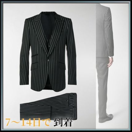 Dolce & Gabbana スーツ 関税込◆pinstriped three-piece suit