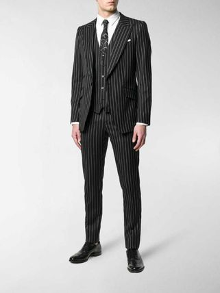 Dolce & Gabbana スーツ 関税込◆pinstriped three-piece suit(4)