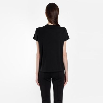 GIVENCHY Tシャツ・カットソー ★関税込/追跡発送 GIVENCHY★ロゴ Tシャツ★BLACK★(4)