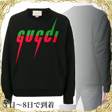 関税込◆Sweatshirt with Gucci Blade print