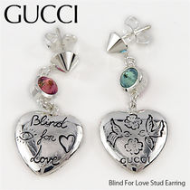 GUCCI Blind For Love Stud Earring ピアス〔YBD50216600100U〕