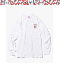 ★HAVE A GOOD TIME★ BLUE MINI FRAME L/S TEE WHITE