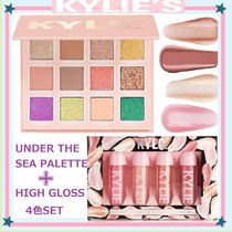 UNDER THE SEA PALETTE(KYLIE COSMETICS) パレットとハイグロス