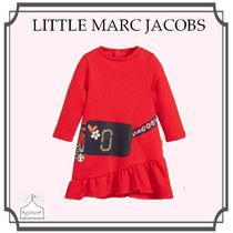 Little Marc Jacobs☆Girls Red ジャージーワンピース