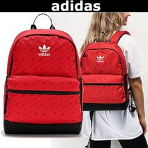 【adidas】National Allover Print バックパック★目立つRED!!