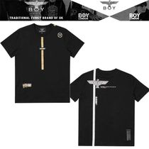 BOYLONDON[ボーイロンドン]eagle logo blackout 2color