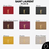Saint Laurent#MONOGRAM-Gold#カードケース#9色