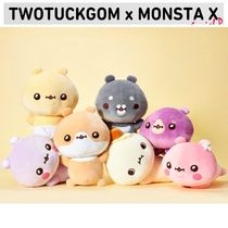 【TWOTUCKGOM × MONSTA X】BODY PILLOW ぬいぐるみ 追跡送料込