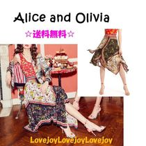 ドラマ着用☆Alice+Olivia MAURA TIERED HANDKERCHIEF SKIRT