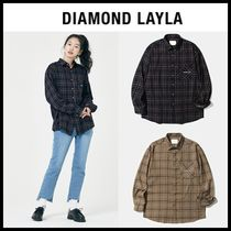 ☆DIAMOND LAYLA☆ BTSジョングク着用 Check shirt