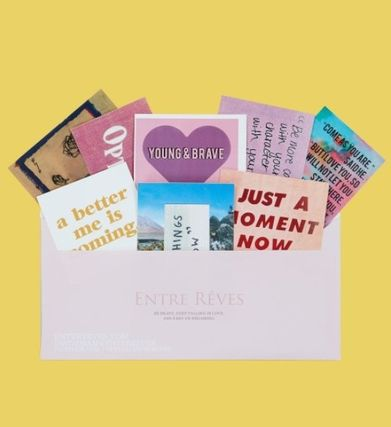Entre Reves ライフスタイルその他 ENTRE REVES★BE OPTIMISTIC - STICKER PACK ステッカーセット