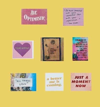 Entre Reves ライフスタイルその他 ENTRE REVES★BE OPTIMISTIC - STICKER PACK ステッカーセット(2)