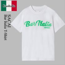 Sacai bar italia t-shirt