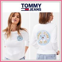 NEW!!【Tommy Hilfiger】Tommy Jeans Peace And Love Sweatshirt