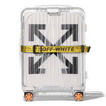 "【OFF-WHITE】OFF-WHITE × RIMOWA ""See Through"" WHITE"