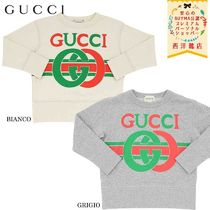 【正規品保証】GUCCI★19/20秋冬★KID LOGO PRINTED SWEATSHIRT