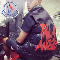 19AW モンクレール 8MONCLER PALM ANGELS パディングベスト BUZZ
