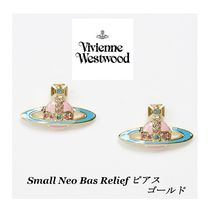 【Vivienne Westwood】 Small Neo Bas Relief ピアス