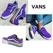VANS★Old Skool Rainbow Platform 厚底レインボウ♪