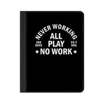 ★Casetify★iPadケース#Never working all play