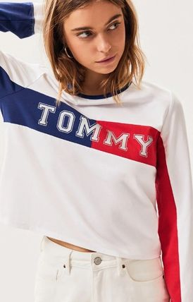 Tommy Hilfiger Tシャツ・カットソー NEW!! 19SS!【Tommy Hilfiger】Colorblock Long Sleeve T-Shirt(2)