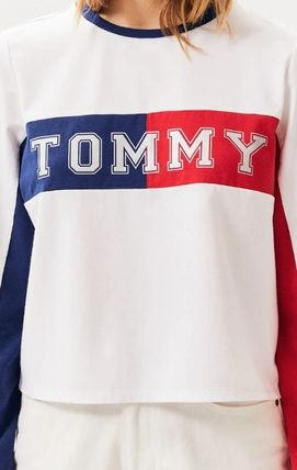 Tommy Hilfiger Tシャツ・カットソー NEW!! 19SS!【Tommy Hilfiger】Colorblock Long Sleeve T-Shirt(3)