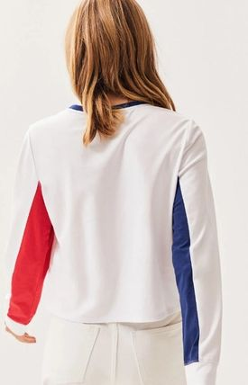 Tommy Hilfiger Tシャツ・カットソー NEW!! 19SS!【Tommy Hilfiger】Colorblock Long Sleeve T-Shirt(5)