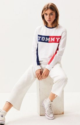 Tommy Hilfiger Tシャツ・カットソー NEW!! 19SS!【Tommy Hilfiger】Colorblock Long Sleeve T-Shirt(6)