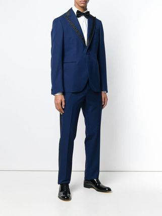 VERSACE スーツ 関税込◆single breasted jacquard detailed suit(2)