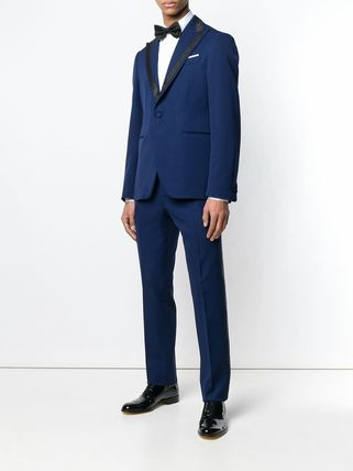 VERSACE スーツ 関税込◆single breasted jacquard detailed suit(5)