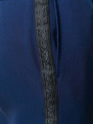 VERSACE スーツ 関税込◆single breasted jacquard detailed suit(7)