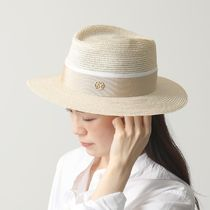 Maison Michel 1003038001 ANDRE HAT ストローハット 帽子