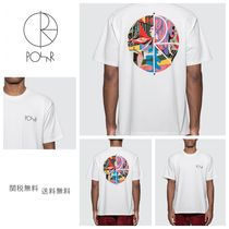 [POLAR SKATE CO] TK Fill Logo T-Shirt ポーラー Tシャツ