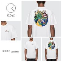 [POLAR SKATE CO] Castle Fill Logo T-Shirt ポーラー Tシャツ