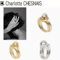 Charlotte Chesnais 関税込 Eclipse リング Gold Silver 3色