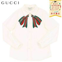 【正規品保証】GUCCI★19/20秋冬★KID´S STRETCH POPLIN SHIRT