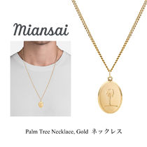 Ron Herman 取扱 Miansai Palm Tree Necklace, Gold