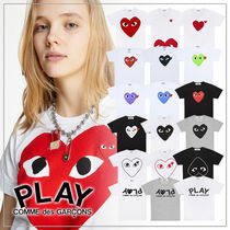 COMME des GARCONS(コムデギャルソン) Tシャツ・カットソー 【送料無料】COMME des GARCONS レディース ハートロゴ TEE