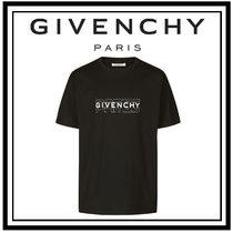 19AW【GIVENCHY】GIVENCHY PARIS プリント Tシャツ ブラック