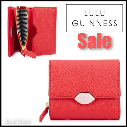 ///Sale/// LULU GUINNESS*SAFFIE リップ コンパクト ウォレット