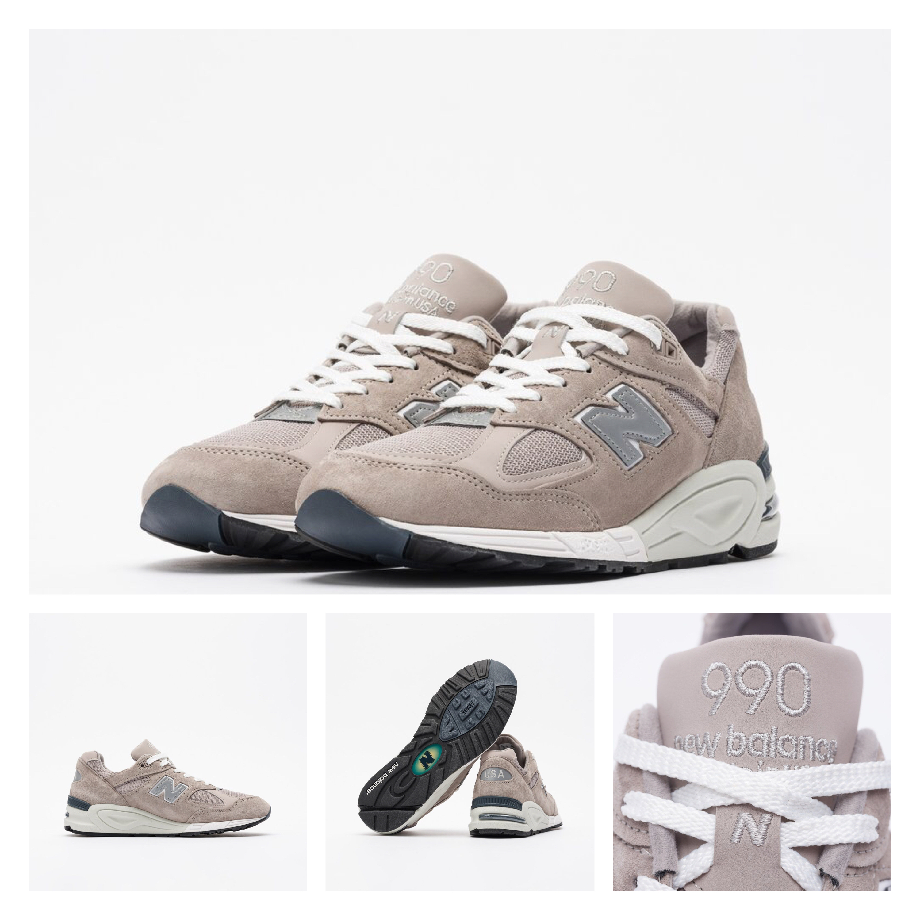 separation shoes 53850 43340 New Balance 990 2019-20AW Street Style Sneakers (M990N2-8)