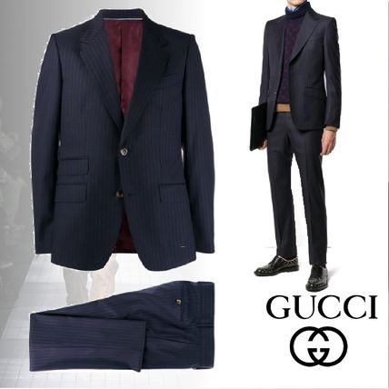 GUCCI スーツ グッチ 19AW Two piece pinstripe suit スーツ
