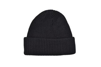 Thames London ニットキャップ・ビーニー THAMES LONDON BEANIE KNIT CAP BLACK テムズ ビーニー(2)