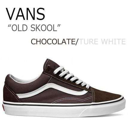 VANS OLD SKOOL CHOCOLATE チョコレート TURE WHITE VN0A38G1U5Z