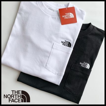 THE NORTH FACE Tシャツ・カットソー 国内発/正規品★THE NORTH FACE★MEN'S POCKET T★白・黒 2着SET