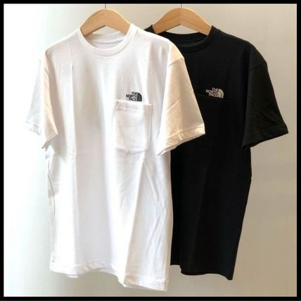 THE NORTH FACE Tシャツ・カットソー 国内発/正規品★THE NORTH FACE★MEN'S POCKET T★白・黒 2着SET(2)