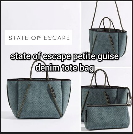 State of escape 2way クロスボディ Guise tote bag モス moss