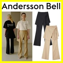 ANDERSSON BELL★LAYERED APRON TROUSERS 2色★正規品★