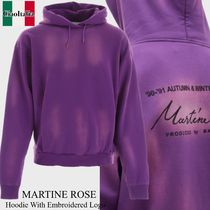 Martine rose hoodie with embroidered logo
