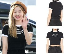 Charm's(チャームス) Tシャツ・カットソー ★CHARM'S★TWICE着用★CHARMS ROSE CIRCLE LOGO CROP T
